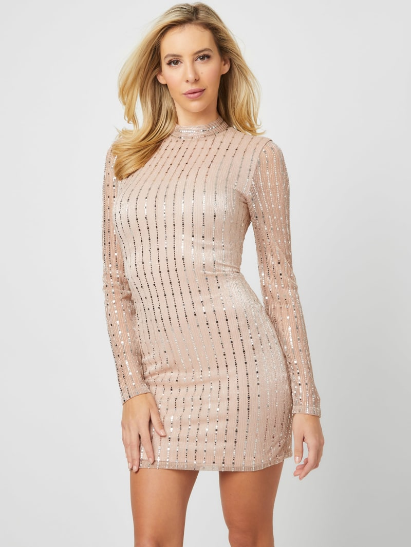 Azelea Long-Sleeve Dress