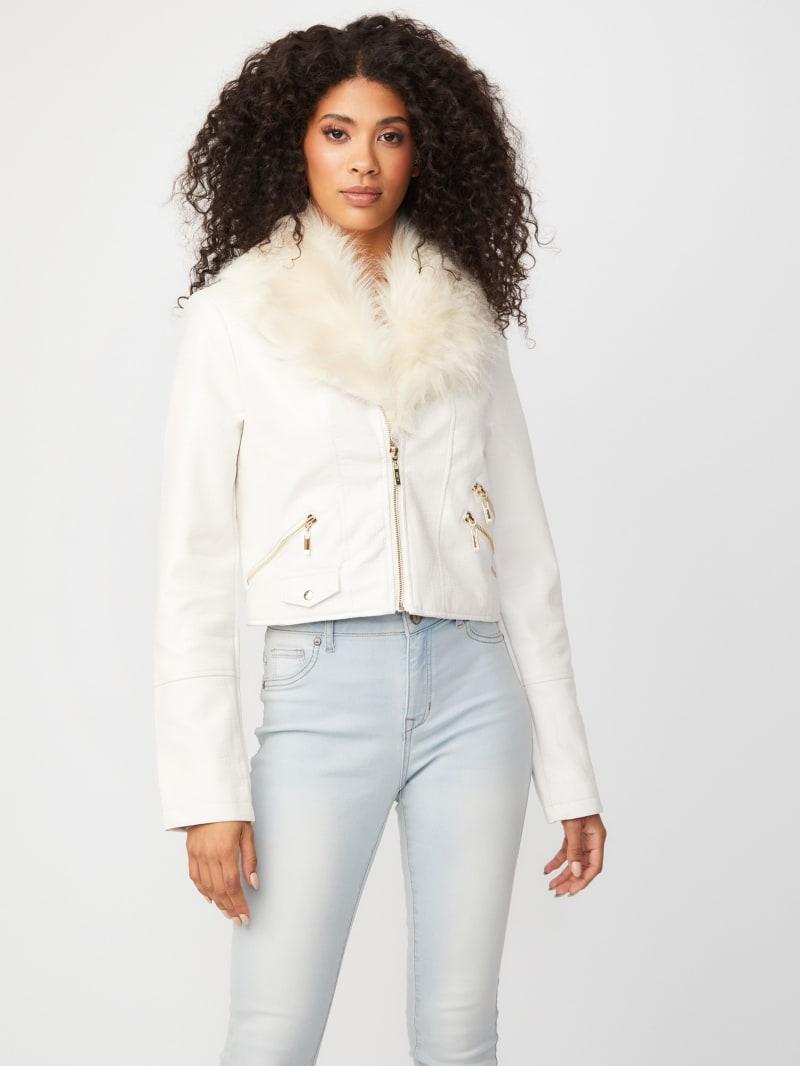 Dimitri Faux- Collar Jacket