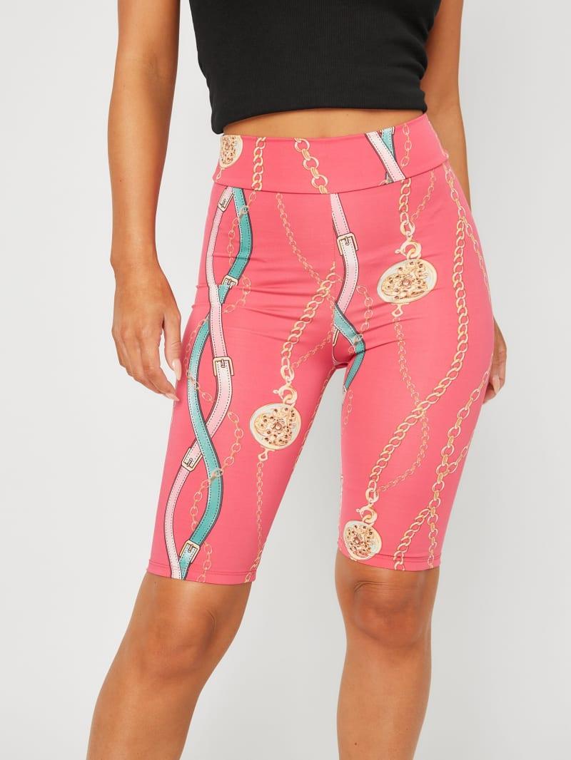 Marisse Printed Bike Shorts