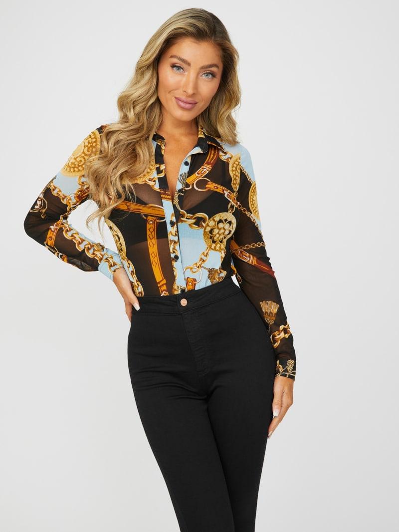 Cherie Chain Print Shirt