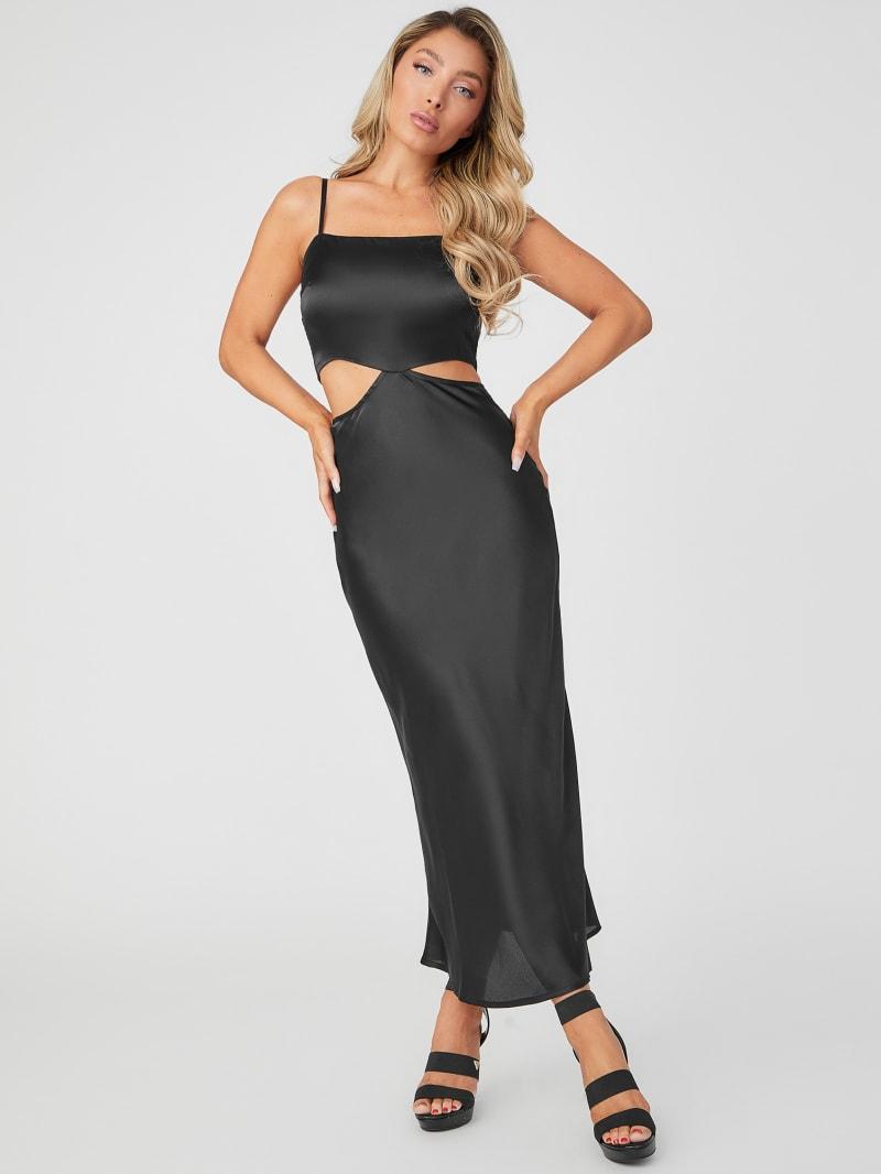Isa Cutout Maxi Dress