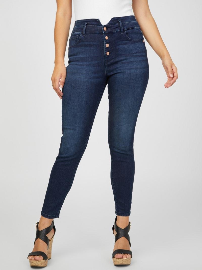 Leah Super High-Rise Skinny Jeans