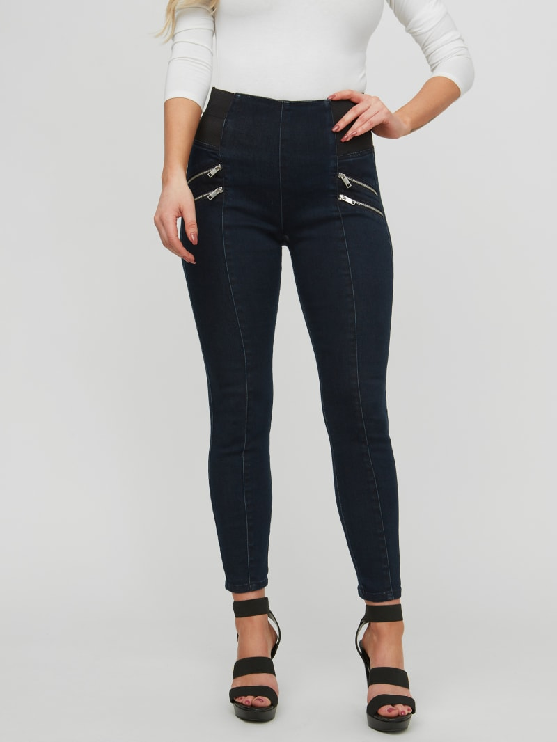 Daisy Pull-On Ankle Jeans