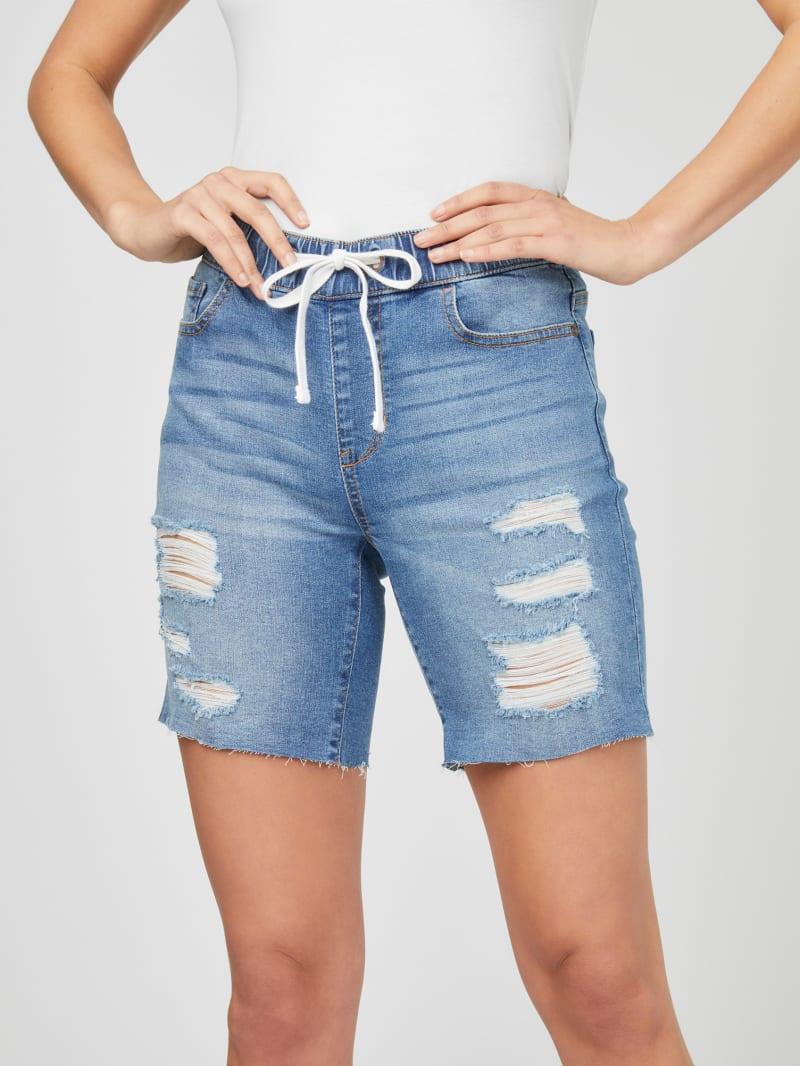 Lunna Denim Jogger Shorts
