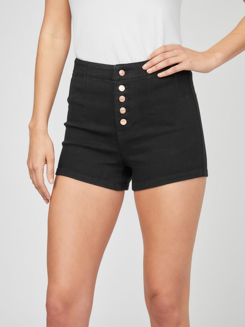 Darsey Button Denim Shorts