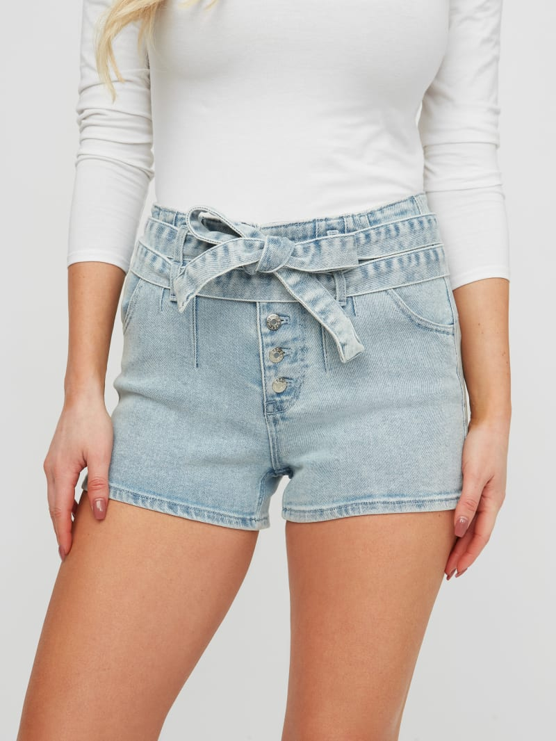 Magnolia Belted Shorts