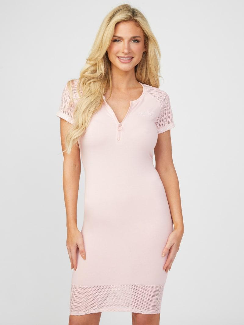 Rylie Zip-Front Dress