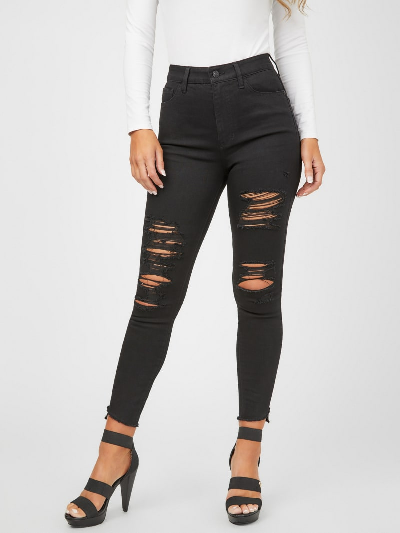 Blake Dyed Cropped Skinny Jeans