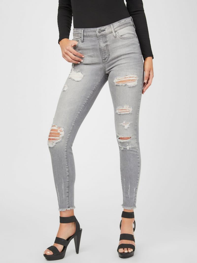 Fiona Raw Hem Skinny Jeans
