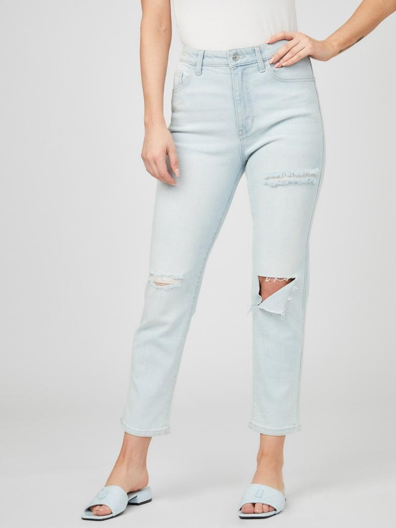Aurora Destroyed Straight Leg Jeans