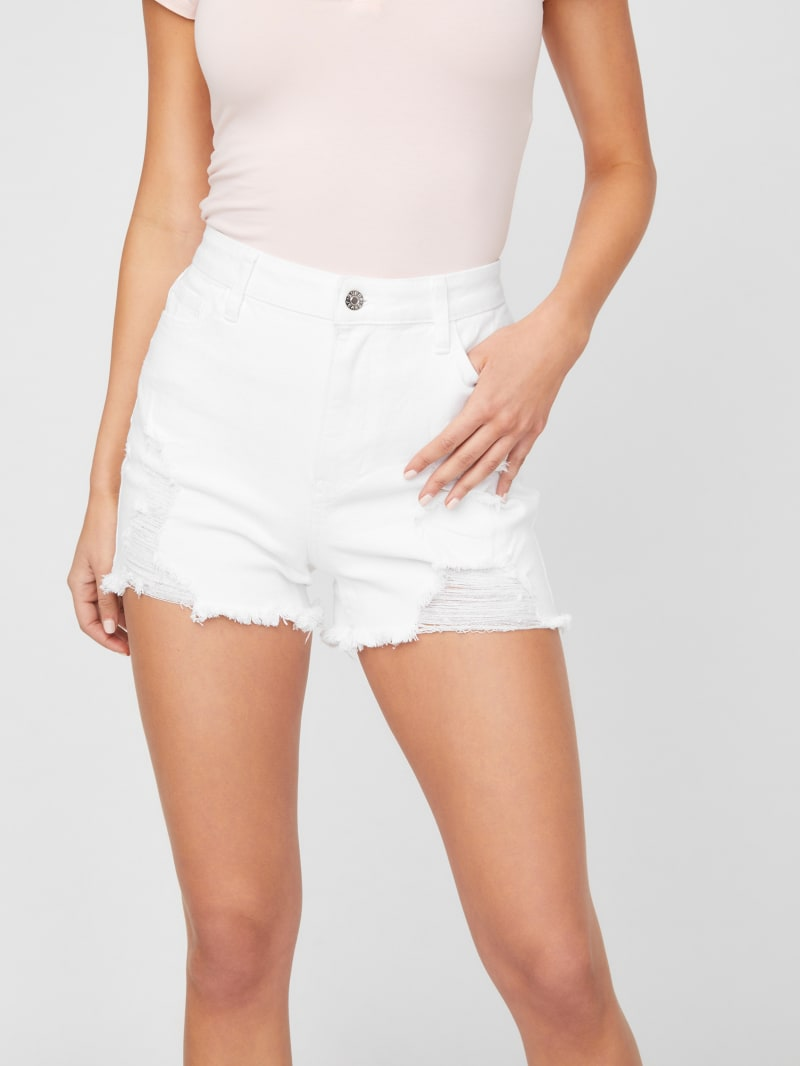 Zayla Destroyed Shorts