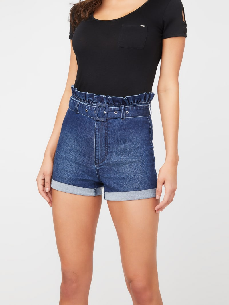 Winona Paperbag Belted Shorts
