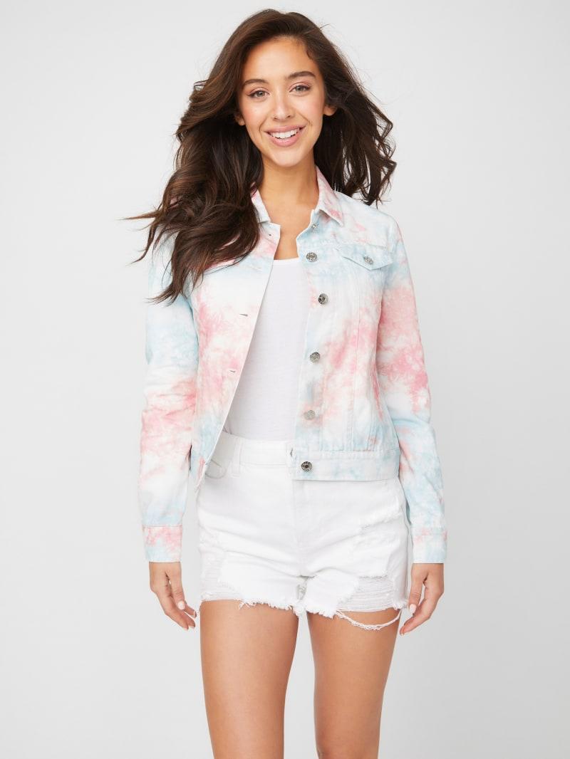 Gianna Tie-Dye Denim Jacket