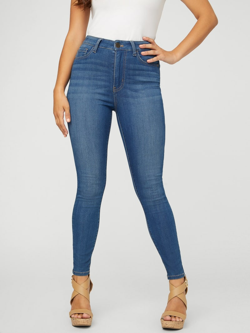 Simmone Super-High Rise Skinny Jeans