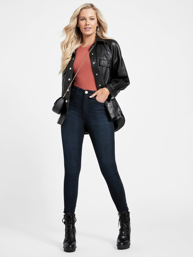 Simmone High-Rise Skinny Jeans