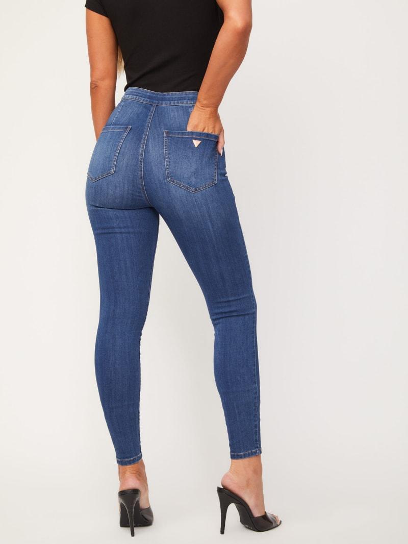 Nova Ultra-High Rise Curvy Jeans | GUESS Factory