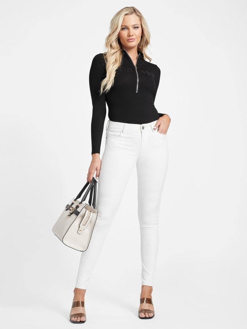 Sienna Curvy Mid-Rise Skinny Jeans