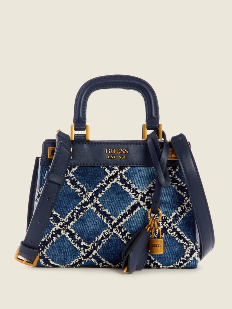 Katey Quilted Mini Satchel