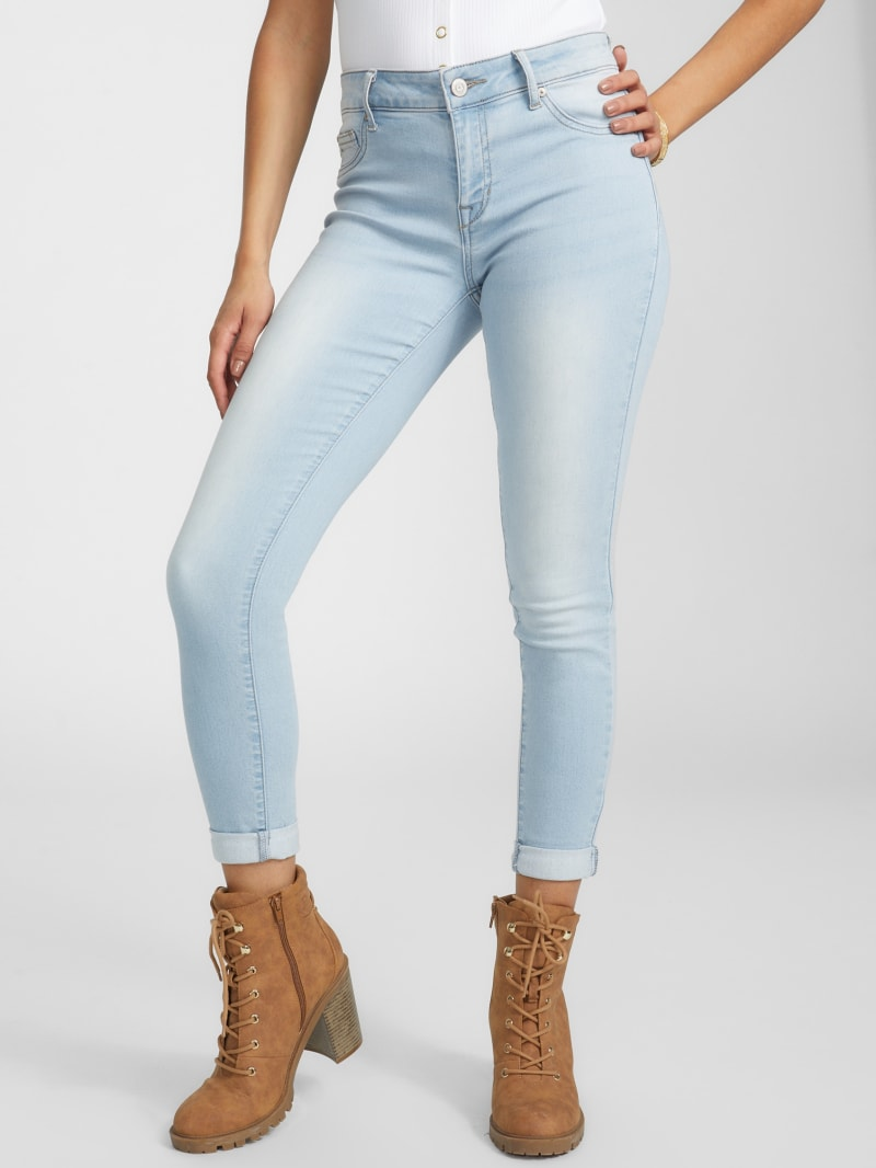 Mishell Mid-Rise Skinny Jeans