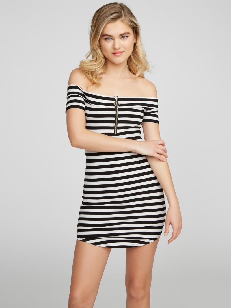 Leonela Off-Shoulder Mini Dress