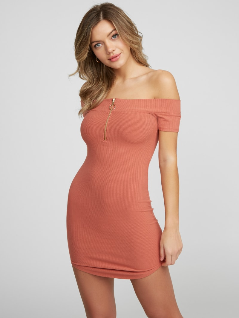 Leonela Off-Shoulder Mini Dress