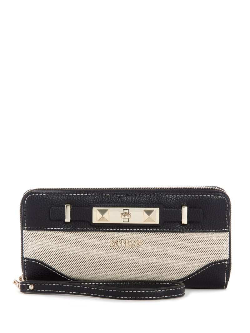 Raffie Zip-Around Wristlet
