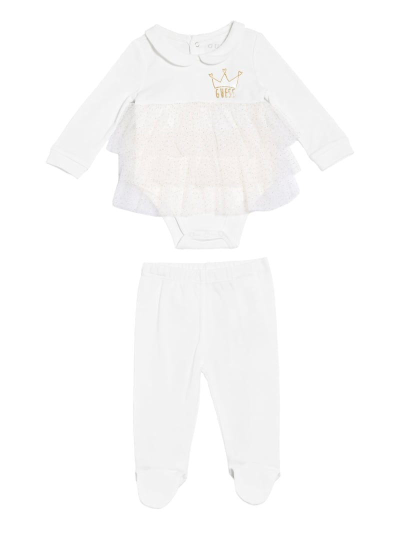 GUESS Queen Tutu Top And Pants Set (0-24M)