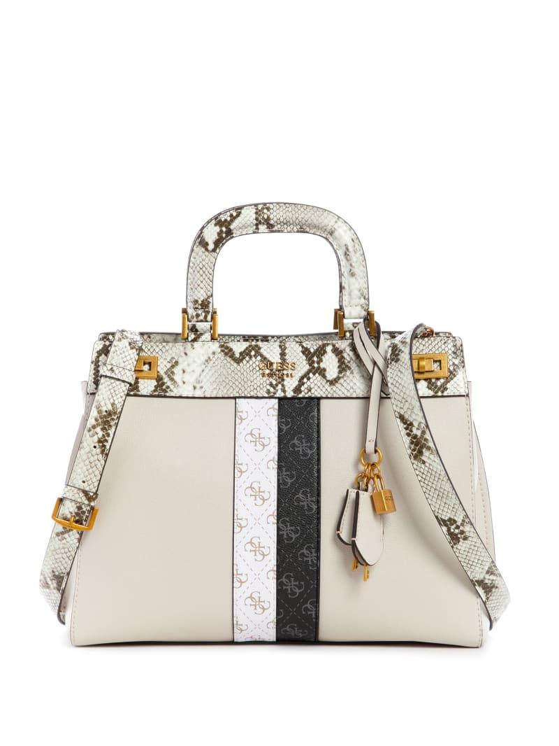 Katey Python Luxury Satchel