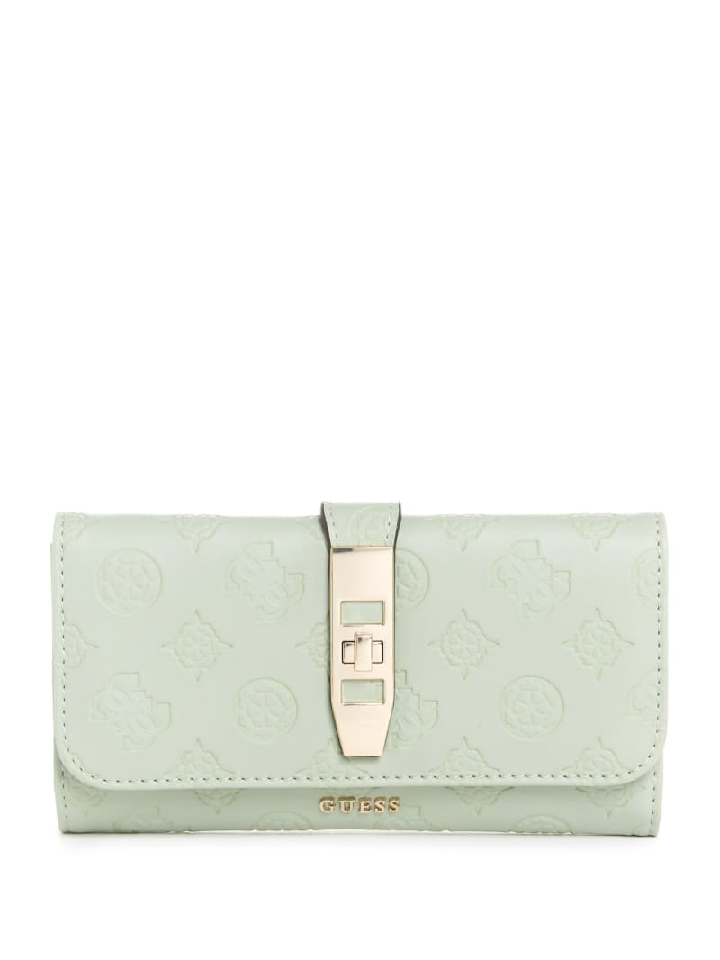 Peony Classic Clutch Wallet