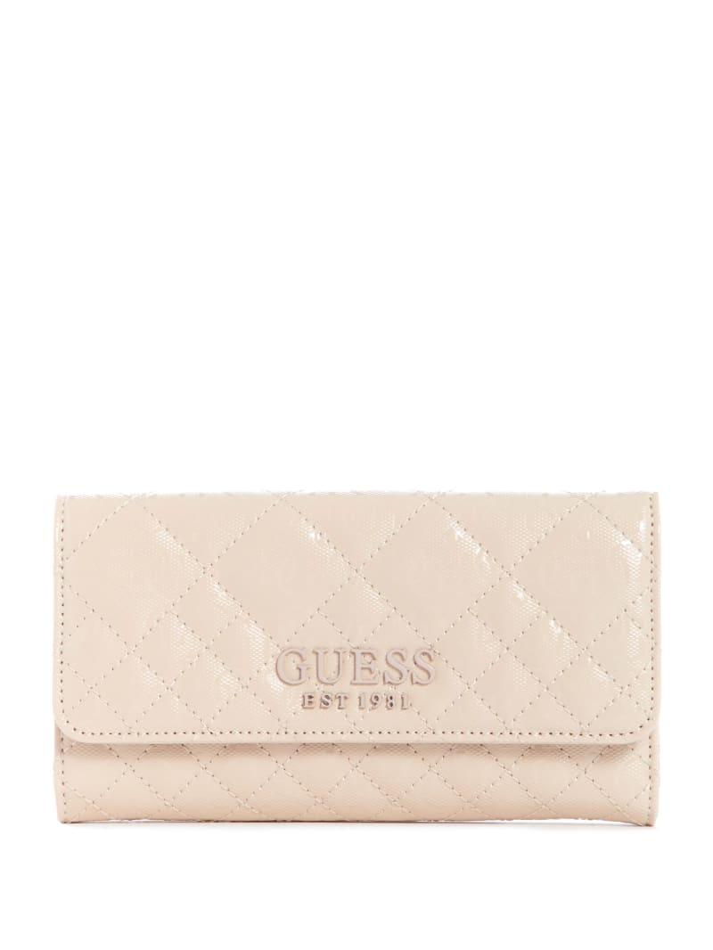 Queenie Quilted Clutch Wallet
