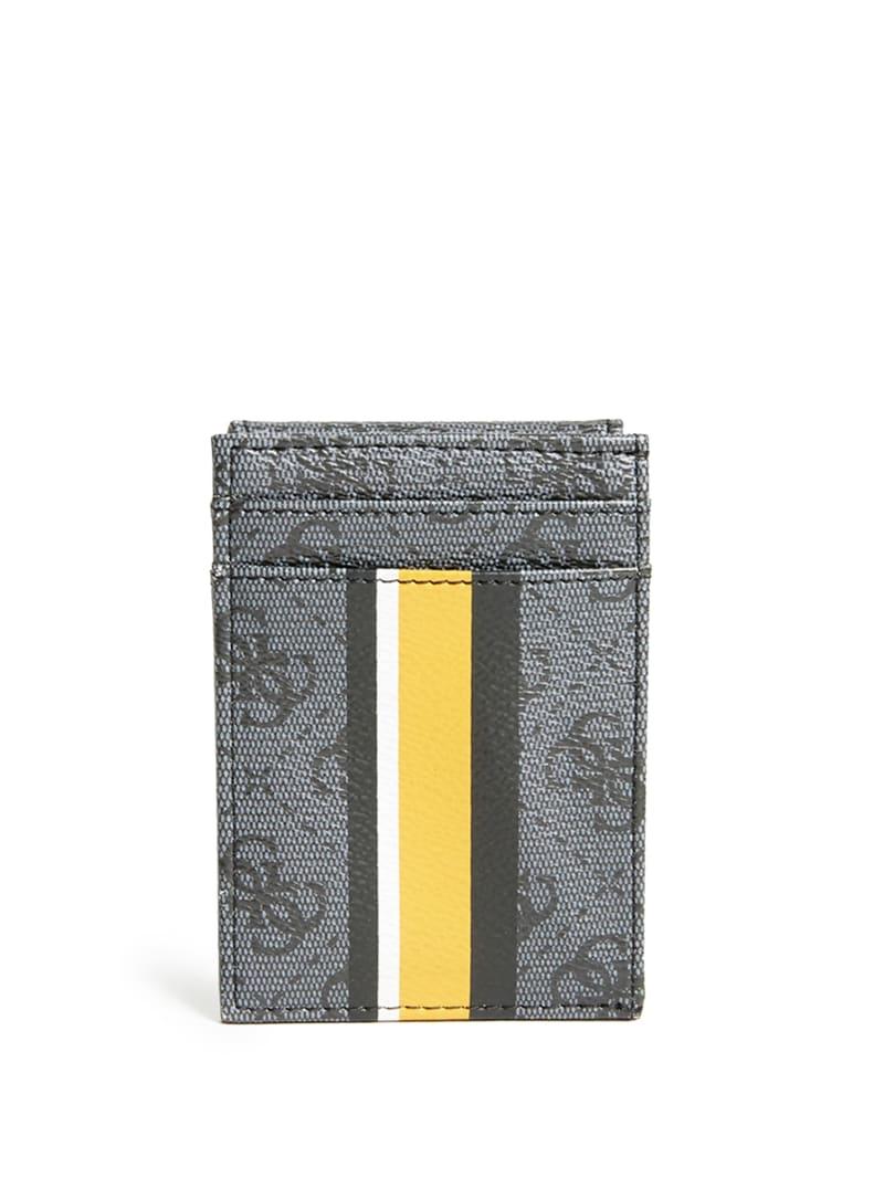 Sig Logo Stripe Bifold Wallet
