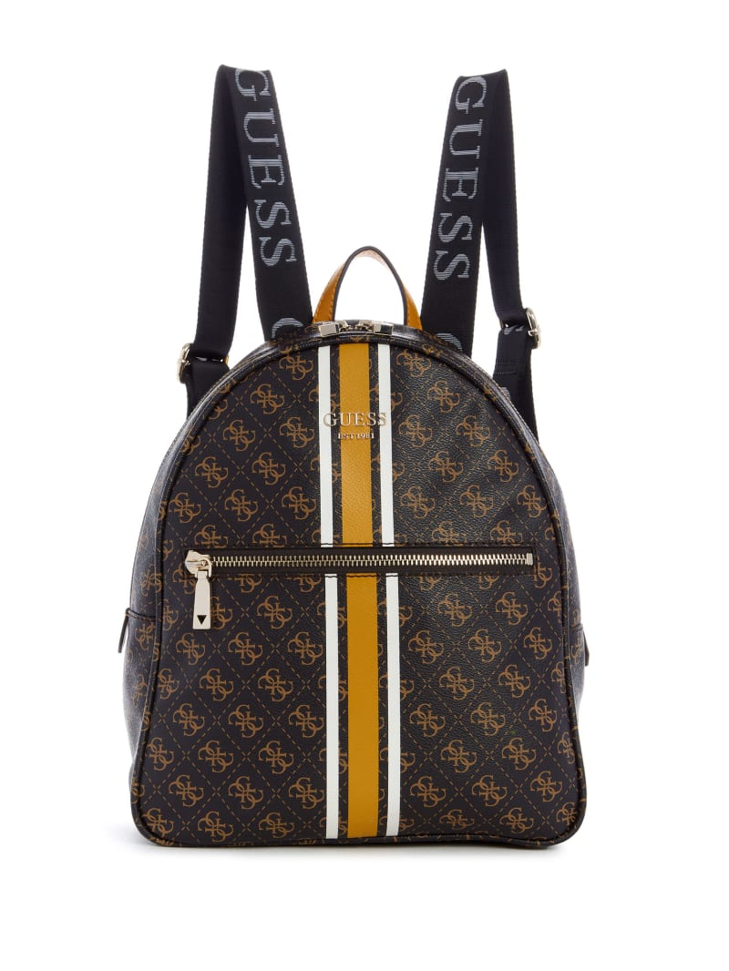 Vikky Logo Printed Backpack