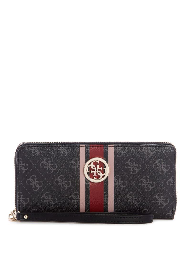 Jensen Large-Zip Around Wallet