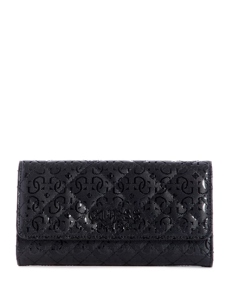Queenie Quilted Clutch Wallet
