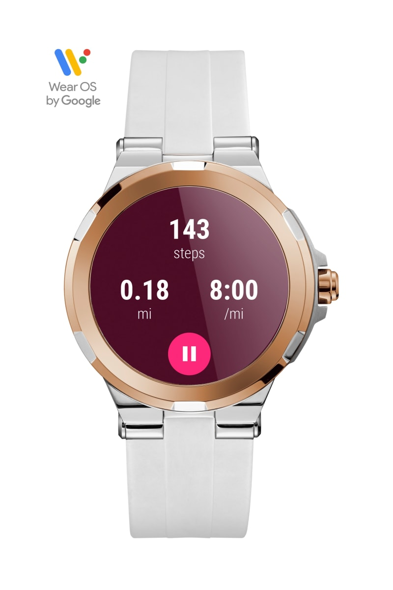 Gc Connect Rose Gold-Tone Smartwatch