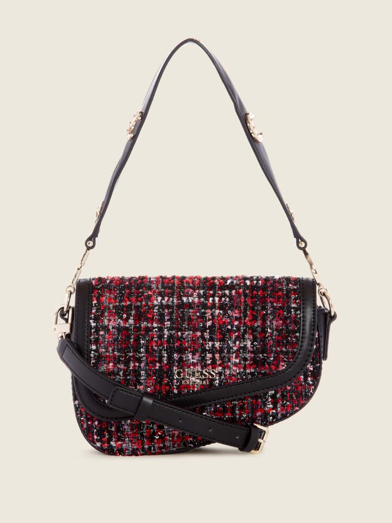 G-Dream Tweed Flap Shoulder Bag