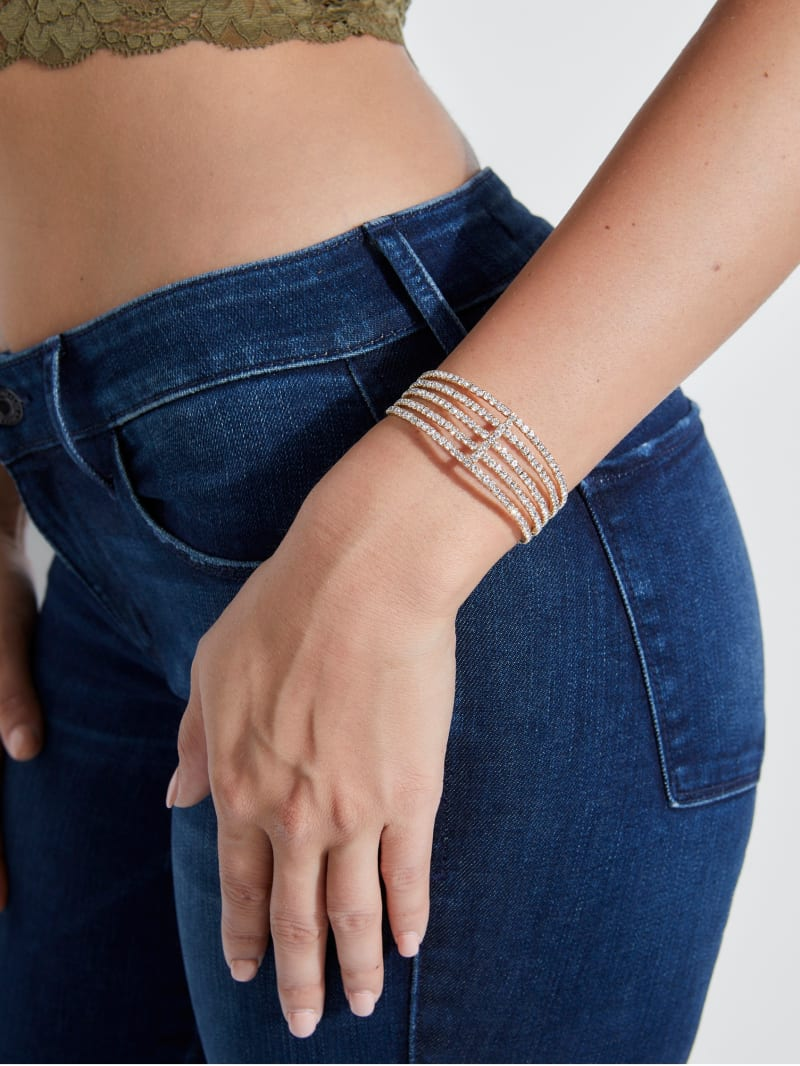 Lizette Pave Stacked Cuff