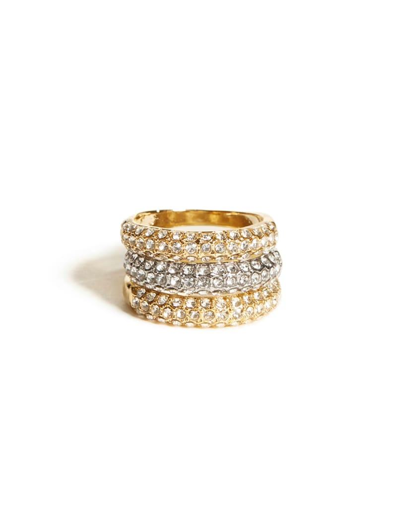 Crystal Ring Set - Size 7