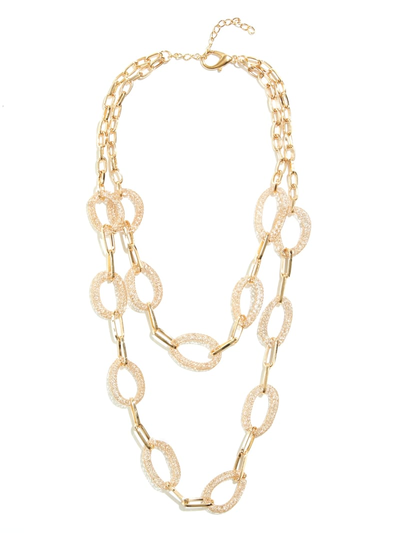 Patricia Double Chain-Link Necklace