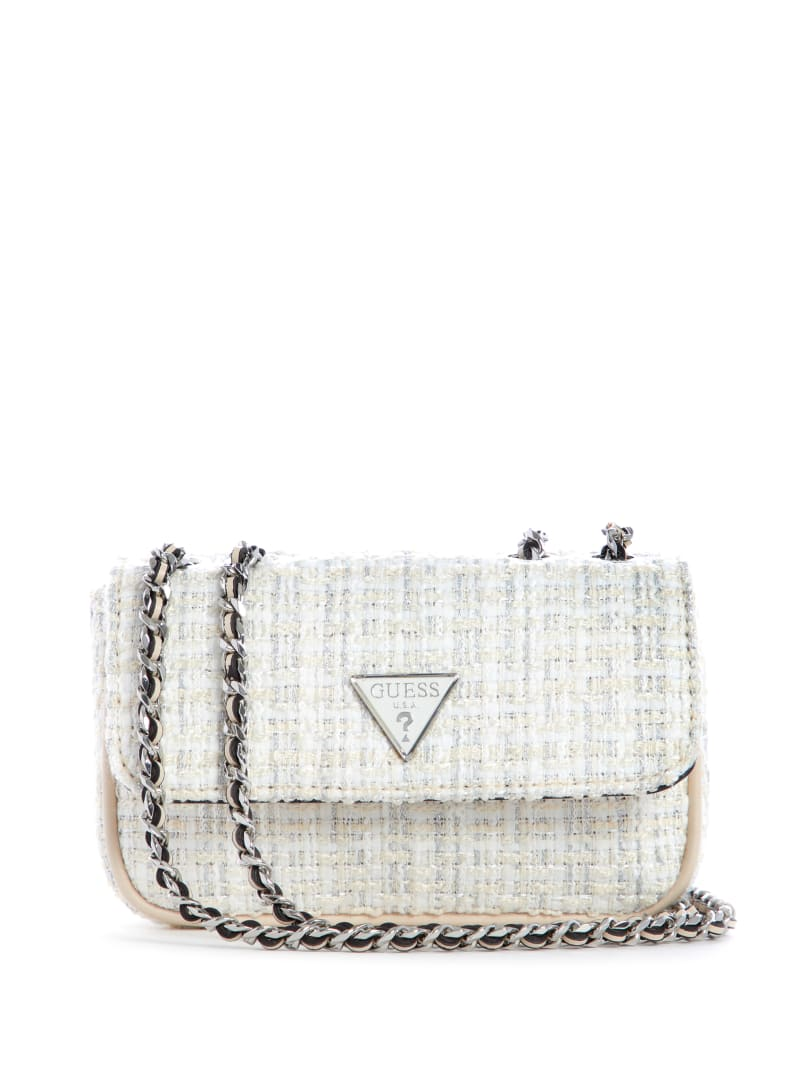 Cessily Tweed Convertible Mini Bag