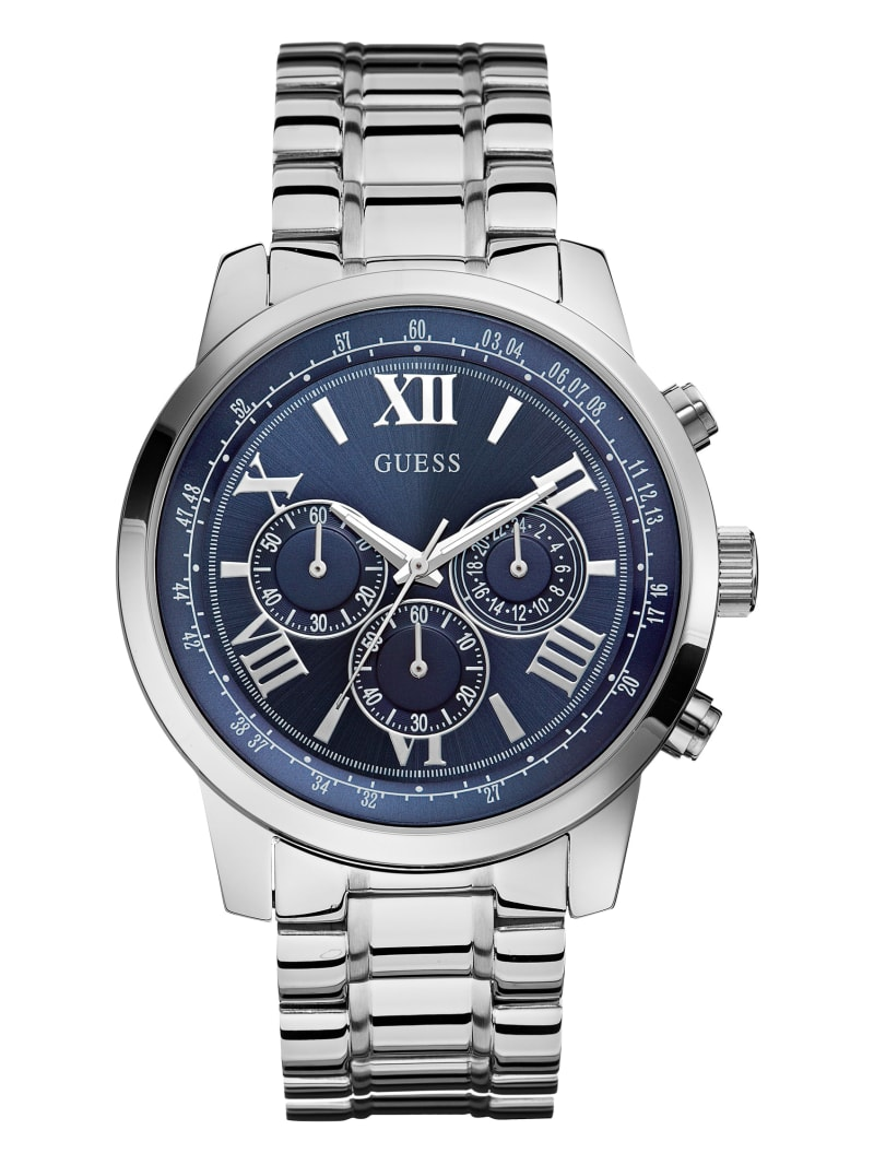 Blue Chronograph Watch