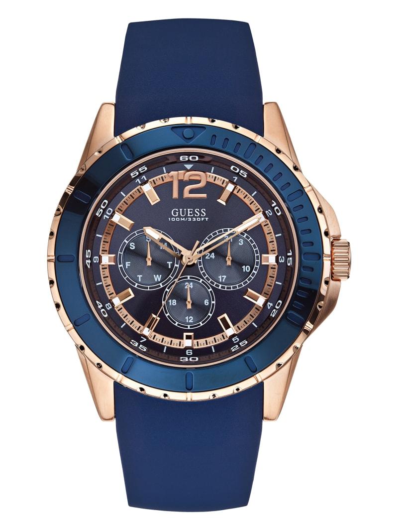 Blue-Tone Sport Watch