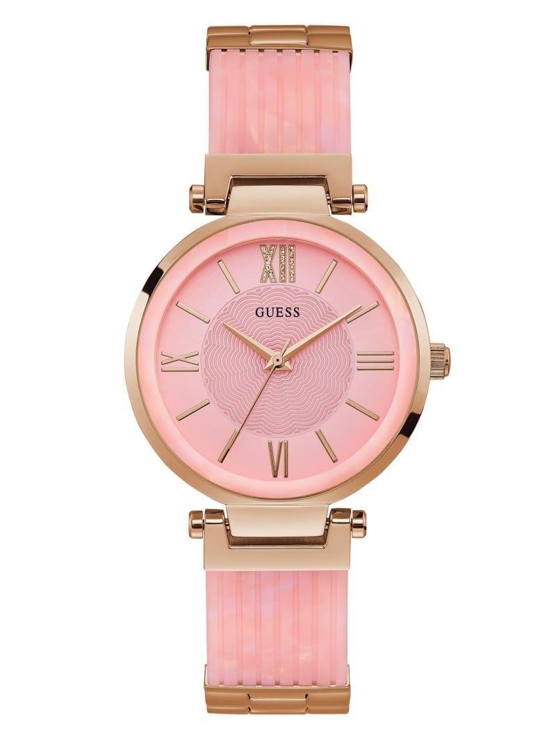 Pink Analog Watch
