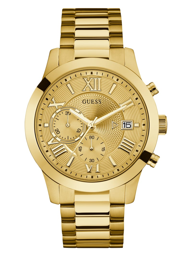 Gold-Tone Classic Dress Watch