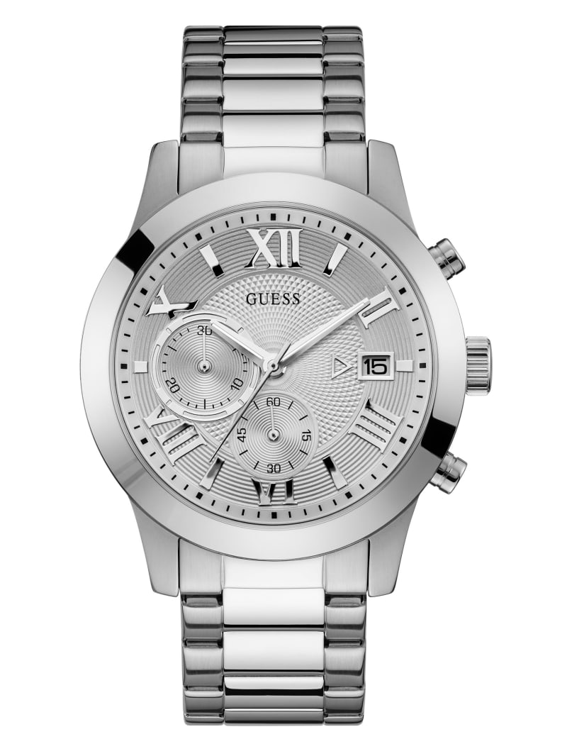Silver-Tone Classic Watch