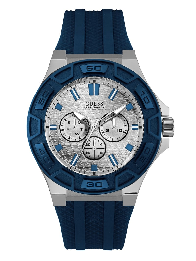Blue Multifunction Sport Watch