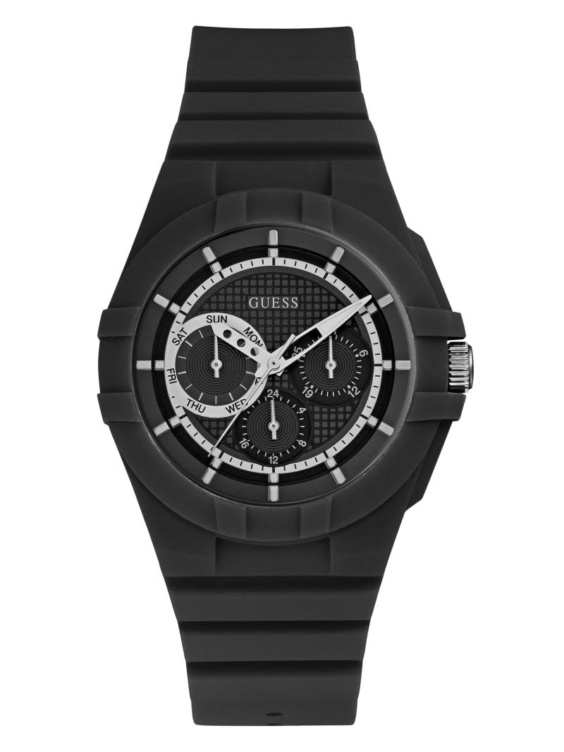 Black Sport Multifunction Watch