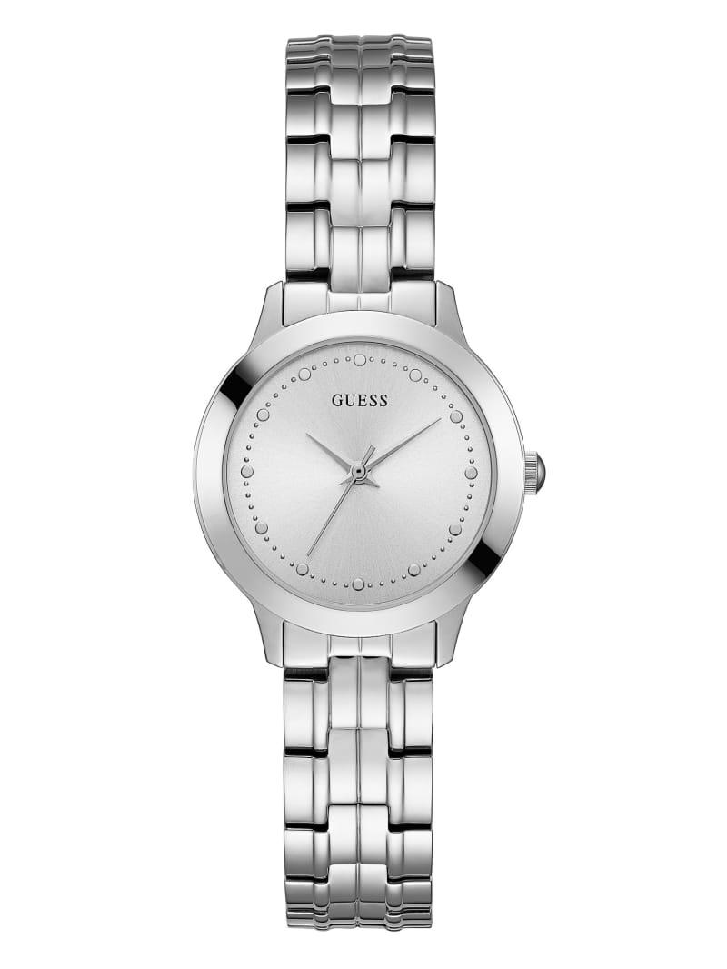 Silver-Tone Slim Classic Watch