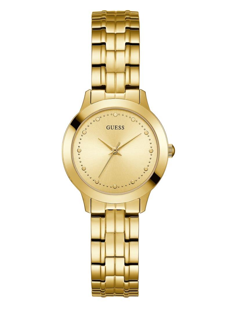 Gold-Tone Slim Classic Watch