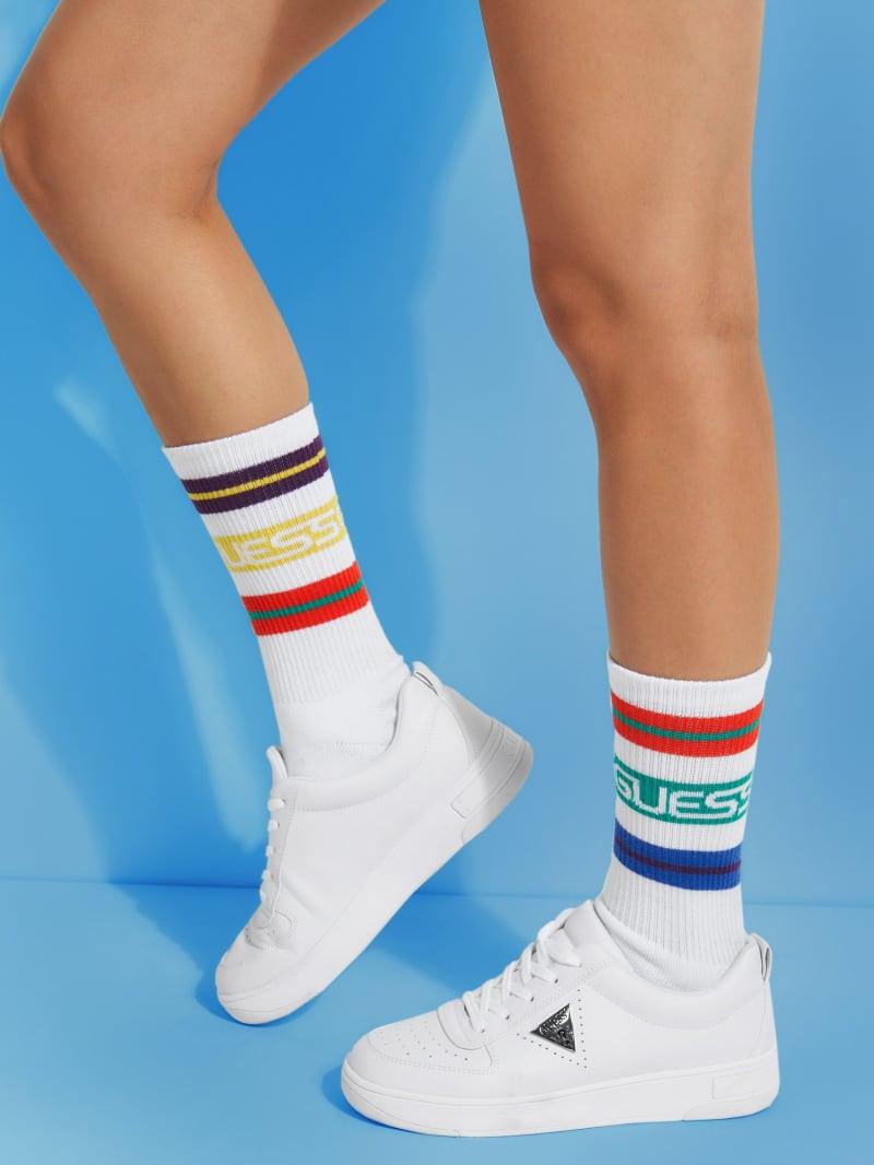 GUESS x J Balvin Striped Socks